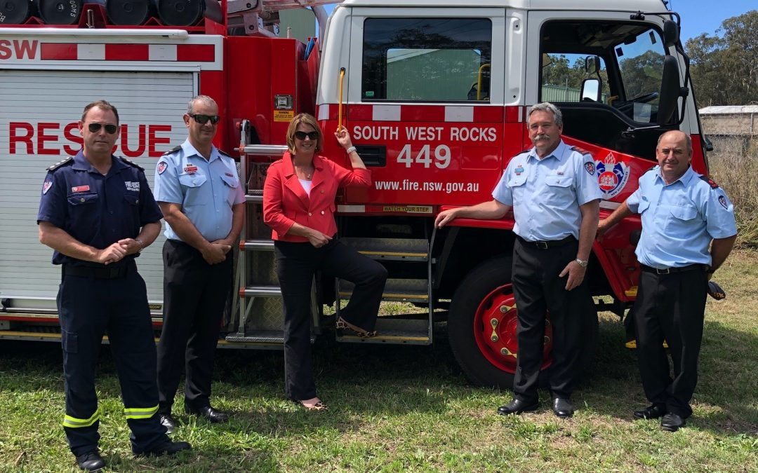 First Sod Turned At New South West Rocks Fire Station