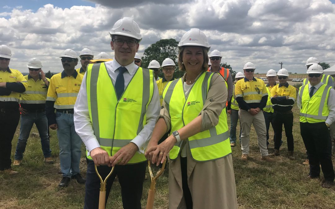 Work On The Northern Road Upgrade Drives Ahead