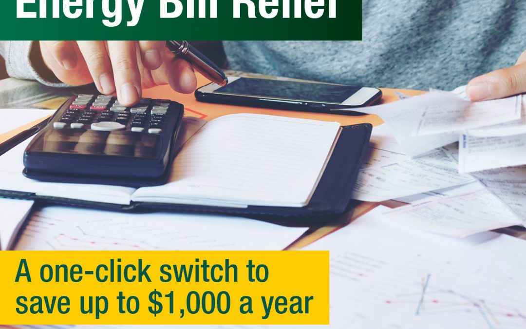 Energy Switch Could Save Households $1000 A Year