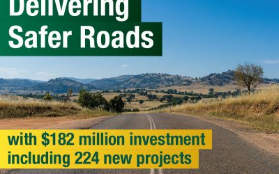 Record Funding To Boost Safety On Regional Roads